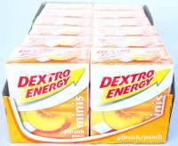 Dextro Energy Minis Traubenzucker, Orange, 12 Packungen a 50g