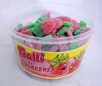 Trolli saure Erdbeeren, Fruchtgummi, 150 Stück in der Frischebox