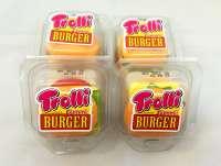 Trolli Burger XL, 5x4cm, einzeln verpackt, 4 Stück a 50g