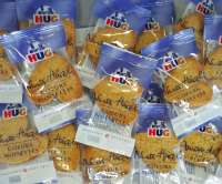 Hug Nuss Härzli, einzeln verpackt, Neu per 100g CHF 3.50, ca. 20 Stück