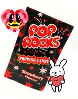 Pop Rocks Erdbeer, knisterndes Brausepulver, Klassiker! 1 Beutel