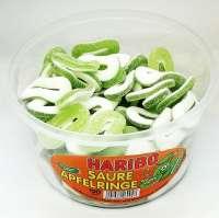 Haribo saure Apfelringe, Aktion 12.95! 150 Stück in der Frischebox