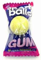 Fini Sport Balls Kaugummi, Tennisball Kaugummi, 10 Stück