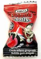 Vidal Blood Balls, gefüllt mit roter Flüssigkeit, süss und sauer, 10 Stück