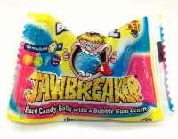 Jawbreaker Blue Razz, Riesen Bonbon mit Kaugummikern, 5 Stück
