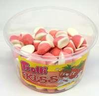 Trolli Kiss, Schaumerdbeeren, in der Frischebox