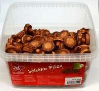 Red Band Schoko-Pilze, Schaumzucker mit Schoggi umhüllt, Frischebox 150 Stück