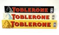 Toblerone Mix, Standard, Weiss und Dark, 3 Stück a 100g