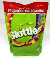 Skittles Crazy Sours, Dragees, Beutel mit 160g