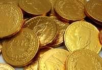Schweizer Schokolade Münzen, Schoggi-Münzen, 100g