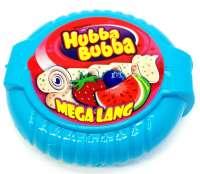 Hubba Bubba Erdbeer - Blaubeer - Wassermelone, Kaugummirolle 180cm, 1 Stück