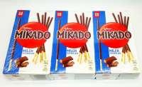 Mikado, Milch-Schokolade, zum Spielen und Naschen, 6 Pack a 75g