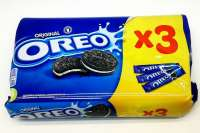 Oreo Cookies Vanilla, Oreo Sandwich Guetzli, 3 Pack a 154g