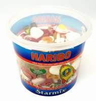 Haribo Starmix, Bunter Fruchtgummi-Spass, Box mit 600g