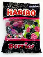 Haribo Berries, neu im 200g Beutel, 5 Beutel a 200g