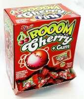 Fini Boom Cherry, saures Bonbon mit Kaugummi, 200 Stück im Verkaufsdisplay
