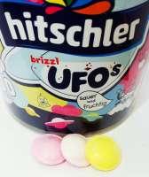 Hitschler Ufos, aus Esspapier mit Brause-Füllung, 10 Stück