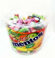Mentos Minis Fruit, Minirolle mit verschiedenen Aromen, Dose mit 120 Stück
