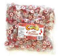 Cool Herz Bonbons, handgemachte Zältli, Beutel 1kg