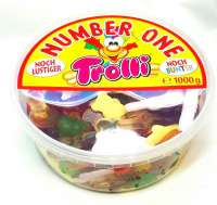 Trolli Best of, Fruchtgummi-Mix in der 1kg Frischebox