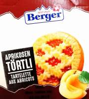 Berger Aprikosentörtli, einzeln verpackt, 10 Stück