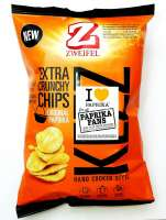 Zweifel Keez Paprika Chips, Hand Cooked Style, 2 Pack a 110g