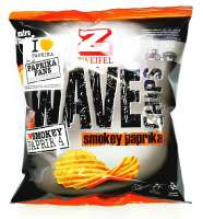 Zweifel Wave Chips Smokey Paprika, 2 Pack a 120g