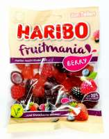 Haribo Fruitmania Berry, Vegi, Beeriges Fruchtgummi, 1 Beutel
