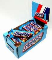 Snickers Crisp Aktion statt 31.90 jetzt 27.90! , luftig locker mit Knusperreis, 24 Riegel a 40g