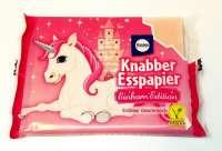 Esspapier, Einhorn Esspapier, mit Erdbeer-Geschmack, 1 Pack