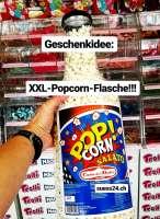 XXL Popcorn Flasche, Geschenkidee! Ca. 50cm gross!