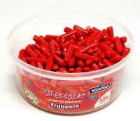 Hitschies Erdbeere, dragiertes Kaubonbon, ca. 320 Stück in der Frischebox