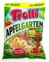 Trolli Apfelgarten super sauer, Vegan, ohne Gelatine, 3 Beutel a 175g