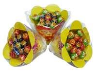 Chupa Chups Mini Blumenstrauss, Geschenkidee, 2 Blumensträusse mit je 13 Mini Chupas