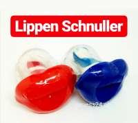 Lippen Schnuller, Party Schnuller, 2 Stück, Farben variieren