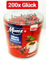Munz Glücks Käferli, Kaffeebeilage, 200 Stück in der Dose