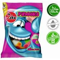 Halal Fruchtgummi, Jake Fingers, 5 Beutel a 100g
