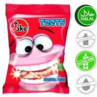 Halal Fruchtgummi, Jake Teeth, 5 Beutel a 100g