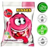 Halal Fruchtgummi, Jake Kisses, 5 Beutel a 100g