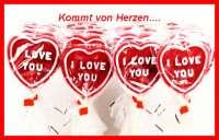 Herz Lutscher, I love you, rot, 75g