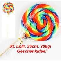 XL Lutscher, Big Boy,  Spiral Lolli in Uebergrösse, 38cm lang, 200g