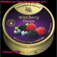 Cavendish & Harvey, Wild Berry Drops, 3 Dosen a 175g