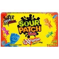 Sour Patch Kids Extreme, saures Fruchtgummi aus USA, Box 99g