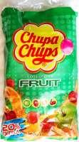 Chupa Chups Frucht-Lutscher, Lolipop, Nachfüllbeutel mit 120 Stück
