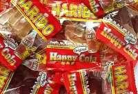 Haribo Happy-Cola, Minibeutel, kleine Colaflaschen, 100 Beutel