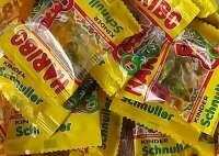 Haribo Kinder-Schnuller, Minibeutel, Fruchtgummi, 100 Beutel