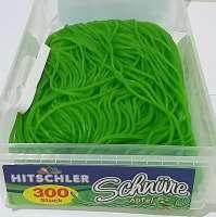 Hitschler Schnüre, Apfel, Fruchtgummi ohne Gelatine, 150 Stück in Frischebox