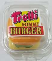 Trolli Burger, Hamburger Fruchtgummi, Extra Gross, 24 Stück