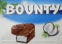 Bounty Riegel, Schokolade, Schoggiriegel, 24 Riegel