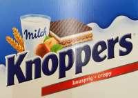 Knoppers, AKTION: statt 19.95 jetzt 17.95! Milch Haselnuss Schnitte, 24 Riegel in Box